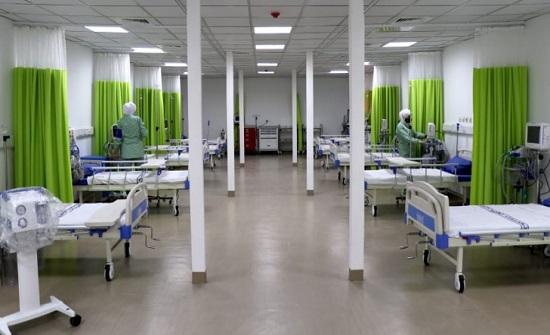 شركس : المستشفيات الميدانية ستكون رافدا لوزارة الصحة