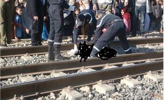 حادث مأساوي.. القطار يمزق شابًا مصريًا وشقيقته