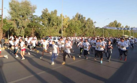 الاعلان عن سباق للأطفال بفعاليات ماراثون عمان السنوي