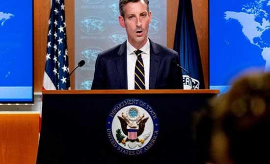 واشنطن : طالبان تعهدت بضمان أمن وسلامة الدبلوماسيين