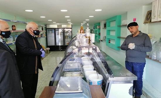وزير الشؤون السياسية والبرلمانية يتفقد أسواق محافظة البلقاء