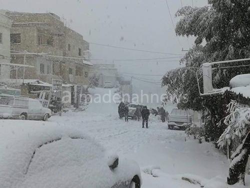 طقس العرب : فرص ممتازة لتراكم الثلوج.. وبدء فعالية المنخفض خلال ساعة