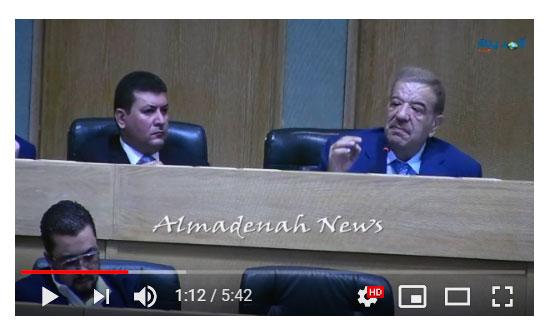 شاهد بالفيديو : لماذا ناصر الدغمي الاعيان وخالف زملاءه  بقضية تقاعد النواب ؟