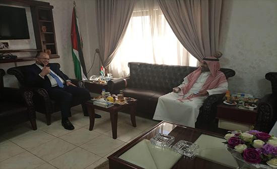 مباحثات اردنية سعودية في مجال التعليم العالي