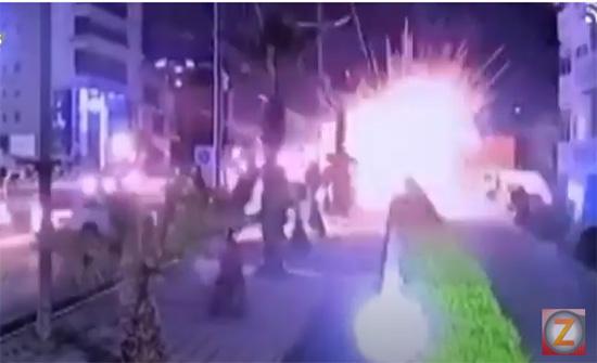 إغلاق مطار أربيل الدولي بعد سقوط صواريخ في محيطه .. بالفيديو