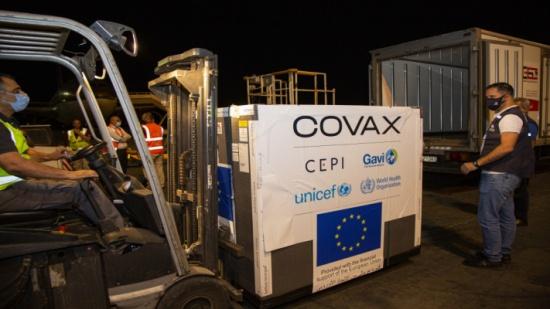 كوفاكس يسلّم الأردن شحنة جديدة من لقاح أسترازينيكا