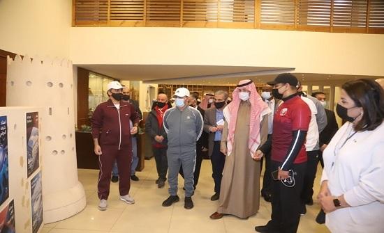 السفارة القطرية بعمان تحتفل باليوم الرياضي للدولة