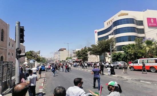 فيديو- مواجهات عقب انطلاق مسيرات بالضفة والداخل نصرة للقدس ودعما لغزة