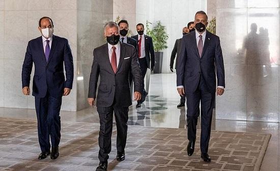 مصدر : القمة الثلاثية ستبحث التعاون المشترك بين العراق والأردن ومصر