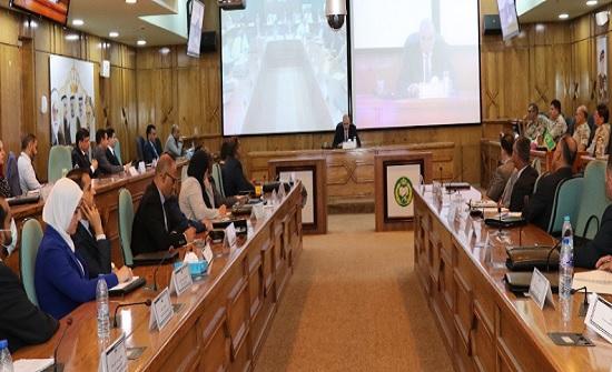 رئيس مجلس النواب يحاضر في كلية الدفاع الوطني الملكية الأردنية