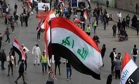العراق.. مئات المتظاهرين يطالبون باستقالة محافظ البصرة