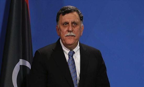 السراج يبحث مع سفراء أجانب مستجدات الأزمة الليبية