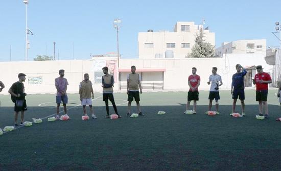 جمعية تحفيز والاتحاد اللوثري تقيمان أنشطة رياضية مجتمعية
