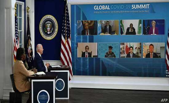 بايدن: أميركا تقود العالم في مجال التبرع بلقاحات كورونا