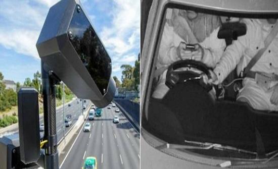 تشغيل أول كاميرات بالعالم لرصد استخدام الهاتف أثناء القيادة