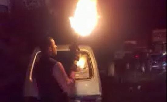 سوريا : مجهولون يلقون قنبلة على عرس في رأس العين (فيديو)