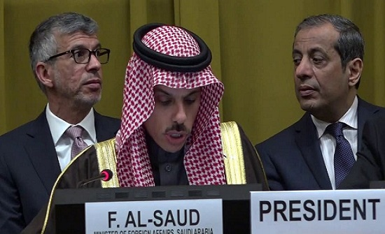 وزير الخارجية السعودي: صمت دولي تجاه سلوك إيران
