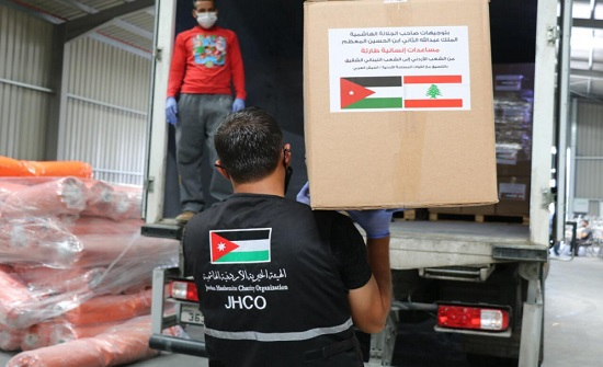 مغادرة أولى طائرات الإغاثة الأردنية إلى لبنان اليوم