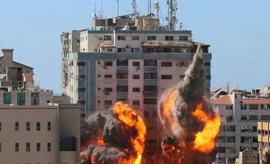 جيش الاحتلال يكشف عن تفاصيل جديدة عن استهداف برج الجلاء في غزة