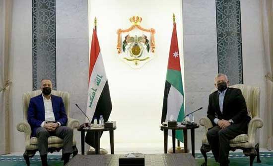 الكاظمي يؤكد دعم العراق للأردن