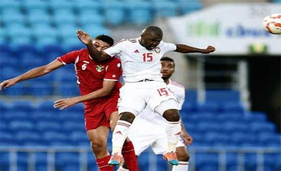 المنتخب الوطني لكرة القدم يخسر أمام نظيره الاماراتي بخماسية