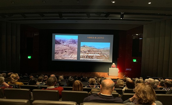 محاضرة في المتحف البريطاني تستعرض بالصور حقبات تاريخية لثلاثة عقود في الاردن