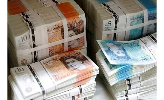 الإسترليني يتجاوز41ر1 دولار ويرتفع امام اليورو