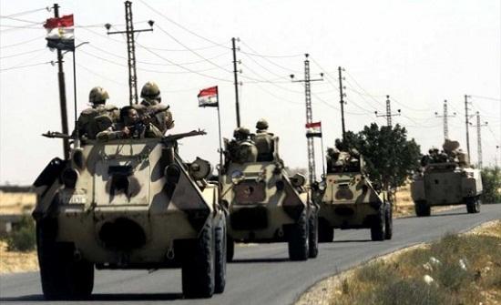 ضبط ارهابيين وتدمير عدد من البؤر الارهابية شمال سيناء