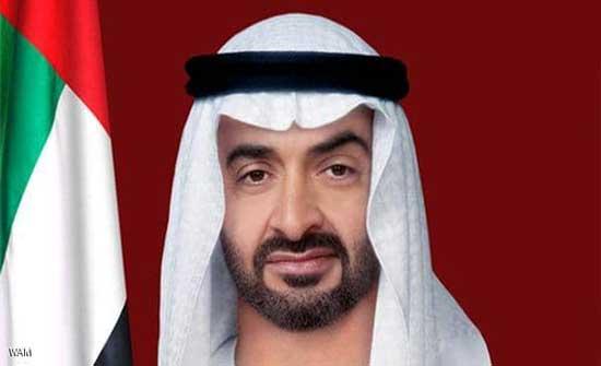 محمد بن زايد يجري مباحثات هاتفية مع الرئيس الأميركي