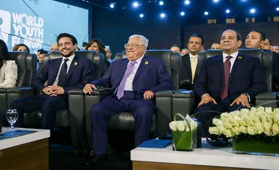 ولي العهد يحضر افتتاح منتدى شباب العالم بنسخته الثالثة في شرم الشيخ