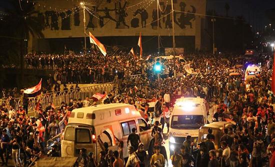 ارتفاع قتلى احتجاجات الجمعة في العراق إلى 30 و2312 جريح بينهم عناصر أمن
