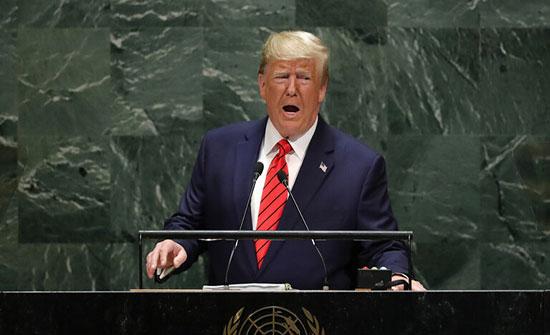 ترامب يدعو شركاء الولايات المتحدة لتحمل نصيبهم في الإنفاق الدفاعي
