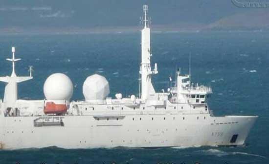 الدفاع الروسية: قواتنا تراقب تحركات سفينة الاستطلاع الفرنسية في بحر اليابان