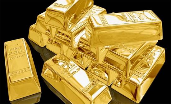 أنخفاض أسعار الذهب لأدنى مستوى فى أسبوع