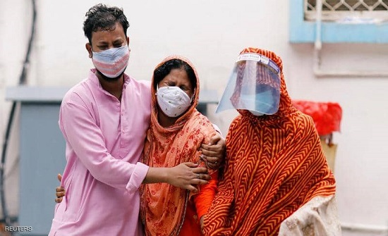 الهند تسجل أكبر حصيلة يومية للإصابات بكورونا منذ تشرين الأول الماضي