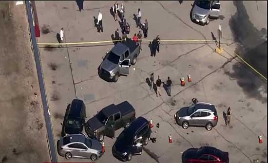 إصابة رجلي شرطة جراء إطلاق نار في مدينة بالتيمور الأمريكية .. بالفيديو