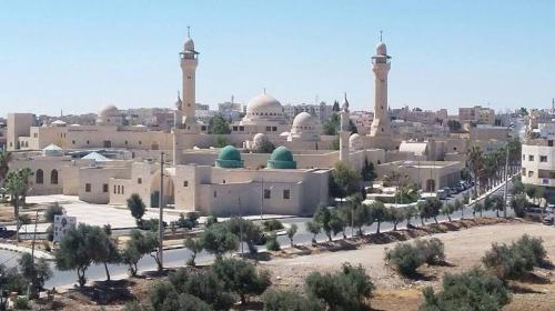 مبادرة لتوزيع العلم الأردني في المزار الجنوبي