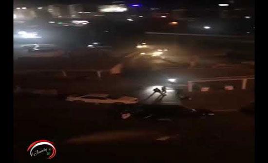 بالفيديو : لبنان.. إطلاق رصاص في بيروت وصور وهدم خيام المعتصمين