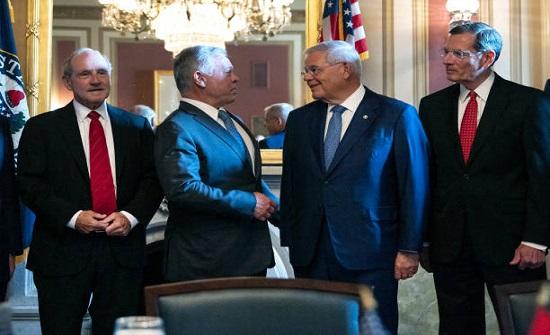 سياسيون: الملك حمل تصورات الإقليم إلى واشنطن