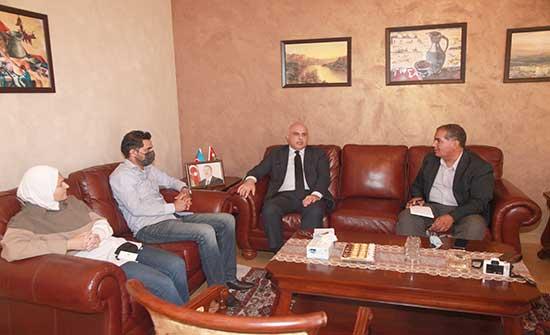 بحث إمكانية تشغيل خط طيران مباشر بين الأردن وأذربيجان