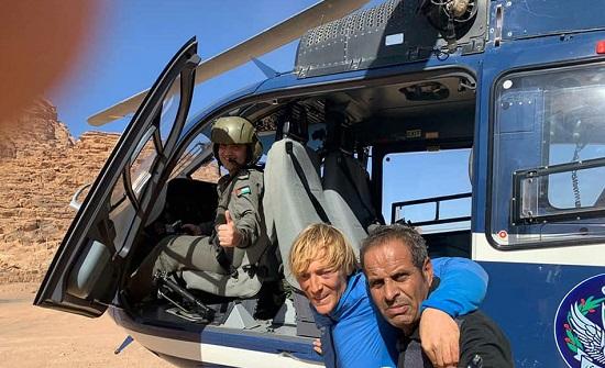 الأمن ينقذ سائحا فقد في منطقة وادي رم