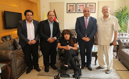 الشواربة: أمانة عمان فخورة بشراكة استراتيجية مع اللجنة البارالمية