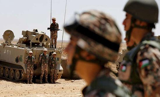 الأردن يتسلم 20 آلية عسكرية من فرنسا