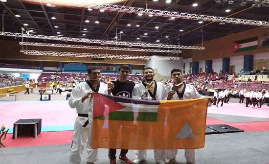 الدفاع المدني يحصد (3) ميداليات ملونة في بطولة الشرق الأوسط الدولية المفتوحة للتايكواندو
