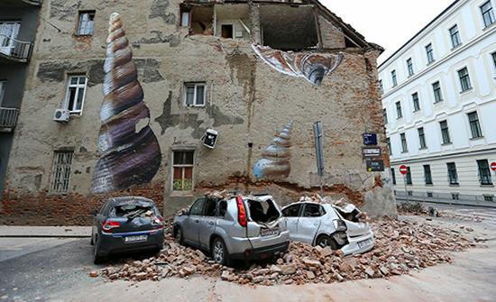 زلزال يضرب وسط كرواتيا ويودي بحياة7 اشخاص على الاقل
