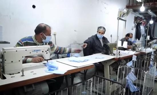 غزة تصدر كمامات لأوروبا وأمريكا .. بالفيديو