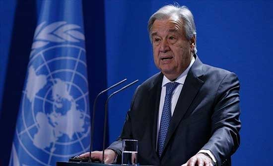 غوتيريش: تشكيل الحكومة اللبنانية خطوة مهمة وهناك أشياء أخرى يجب حلّها