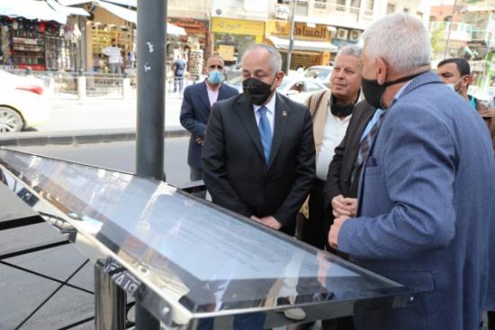 وزير الثقافة يفتتح مكتبة الجاحظ في وسط العاصمة