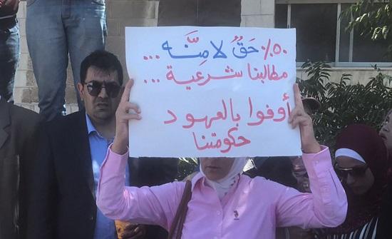 الحكومة تطلب من نقابة المعلمين تزويدها بجميع التجاوزات بحق منتسبيها