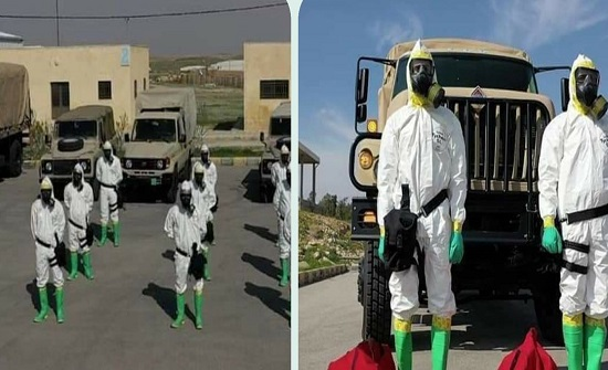 خيمة في الدوار السابع لنقل الحاجيات لمناطق الحجر في البحر الميت